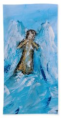Angel With A Purpose Hand Towel