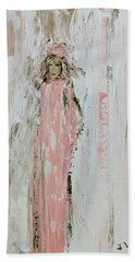 Angels In Pink Hand Towel