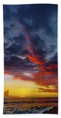 Another Colorful Sky Hand Towel