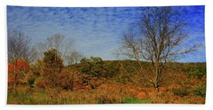 Bath Towel featuring the photograph Appalachian Trail Massachusetts In The Fall by Raymond Salani III