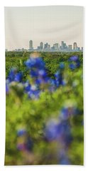 April In Dallas Hand Towel