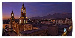 Arequipa Is Peru Best Kept Travel Secret Hand Towel