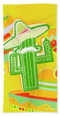 Arid Amigo  Bath Towel