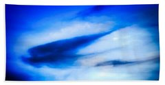 Hand Towel featuring the photograph Arizona Angel In Blue by Judy Kennedy