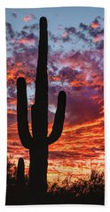 Arizona Sunset Hand Towel