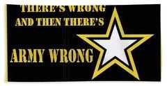 Army Wrong Hand Towel
