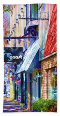 Art Coast Of Michigan Bath Towel