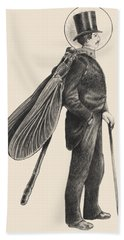 Inspector Dragonfly Hand Towel