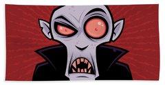 Count Dracula Bath Towel