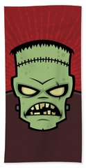 Frankenstein Monster Bath Towel