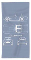 Ac Cobra Blueprint Bath Towel