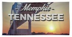 Bridge Over Mississippi River Hand Towel