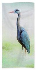 Heron Hand Towel