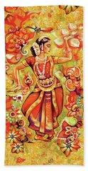 Ganges Flower Hand Towel