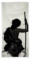 Female Samurai - Onna Bugeisha Bath Towel