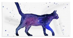 Space Cat Hand Towel