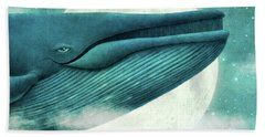 The Great Whale Hand Towel