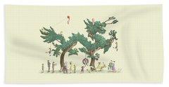 The Dragon Tree Hand Towel