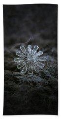 December 18 2015 - Snowflake 3 Hand Towel