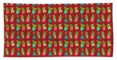 Cactus Friends Bath Towel