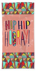 Hip Hip Hooray Bath Towel