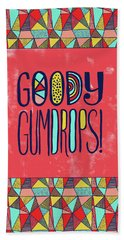 Goody Gumdrops Bath Towel