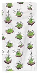 Terrariums Bath Towel