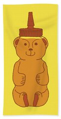 Happy Honey Bear Bath Towel