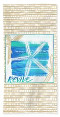 Revive Starfish Coastal Art Bath Towel