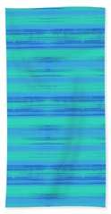 Abstract Vibrant Beach Background Hand Towel