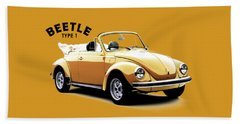 Vw Beetle 1972 Bath Towel