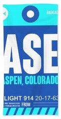 Ase Aspen Luggage Tag II Hand Towel