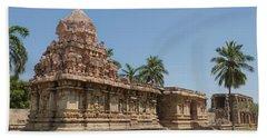 Asia, India, Tamil Nadu, Gangaikonda Cholapuram, Brihadisvara Temple Hand Towel