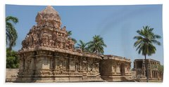 Asia, India, Tamil Nadu, Gangaikonda Cholapuram, Brihadisvara Temple Bath Towel