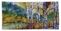 Aspen Bears At Emmigrant Gap Hand Towel