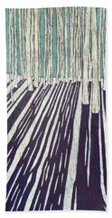 Aspen Shadow Silhouettes Bath Towel