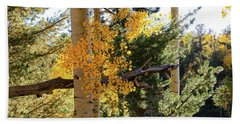 Aspen Tree Close Hand Towel