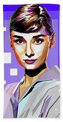 Audrey Hepburn Hand Towel