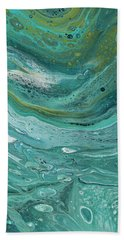 Hand Towel featuring the painting Aurora  by Darice Machel McGuire
