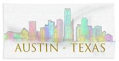 Austin Skyline Hand Towel