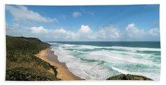 Australia Coastline Bath Towel