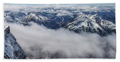 Austrian Alps Hand Towel