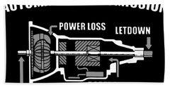 Automatic Transmission Power Loss Letdown Science Bath Towel