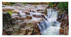 Autumn Color At Rocky Gorge Bath Towel