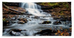 Bath Towel featuring the photograph Autumn Days by Russell Pugh