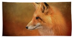 Autumn Fox Bath Towel