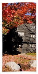 Autumn In Salem Bath Towel