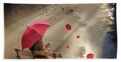 Autumn In Silence Bath Towel