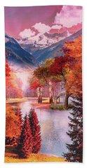 Autumn Landscape 1 Hand Towel