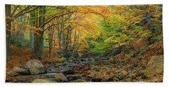 Autumn Landscape Hand Towel